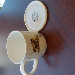 Brand New Royal Worcester Pug Cup and Coaster